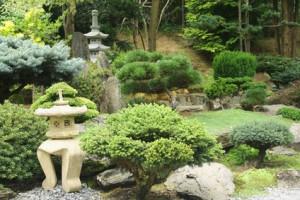 Japangarten - geschwungen und asymmetrisch
