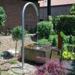 Die Anmeldung des Gartenbrunnens