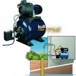 Wasserpumpe für Gartenbrunnen