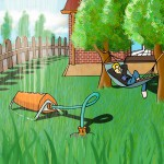 Wasser aus der Pipeline: Unterirdische Leitungen zur Gartenbewässerung