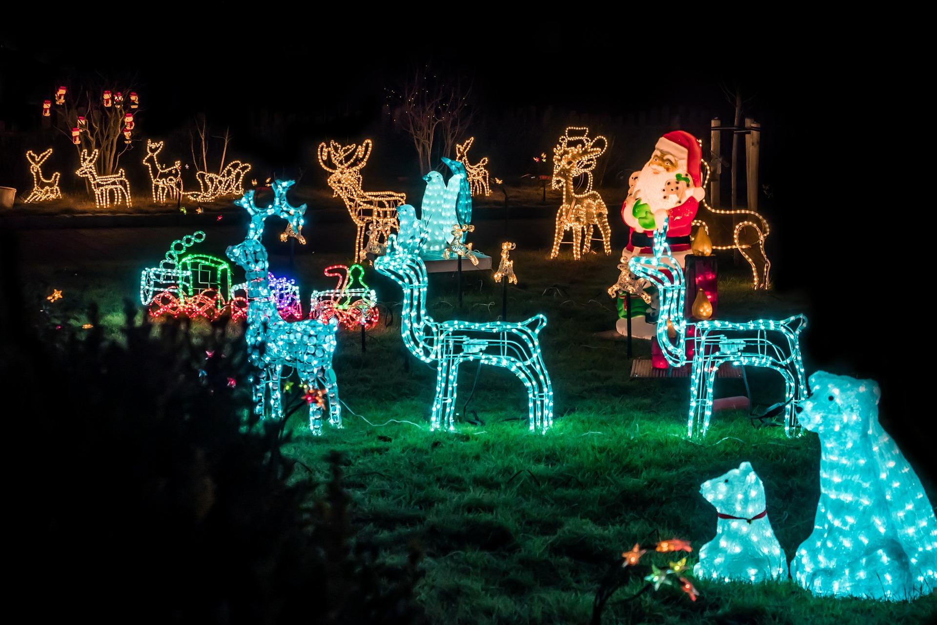 Weihnachtsbeleuchtung Im Garten Kull Design Blog