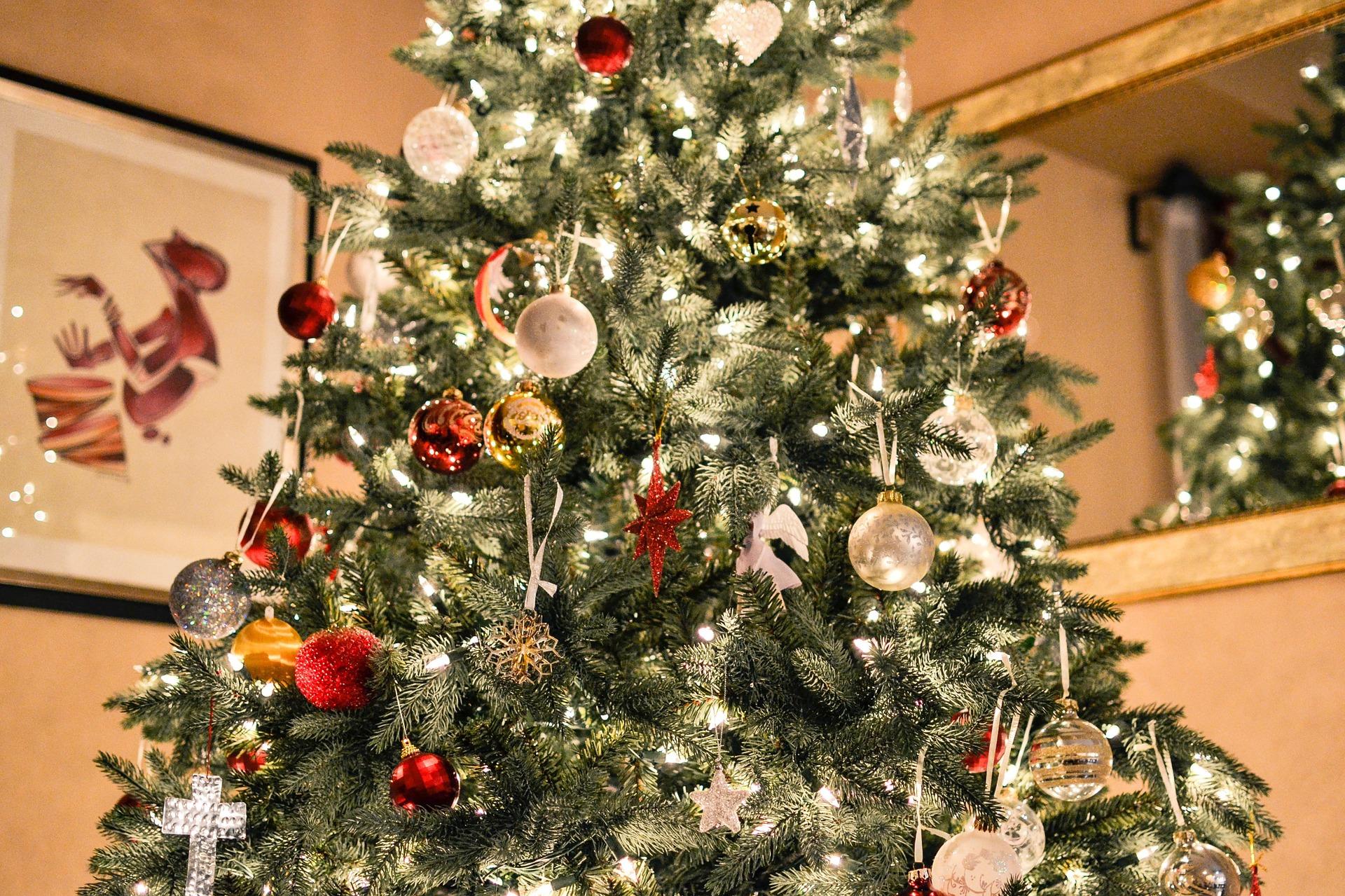 Weihnachtsbaumbeleuchtung