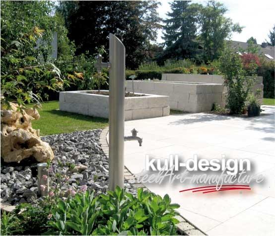 Wasserstelle Im Garten kull design
