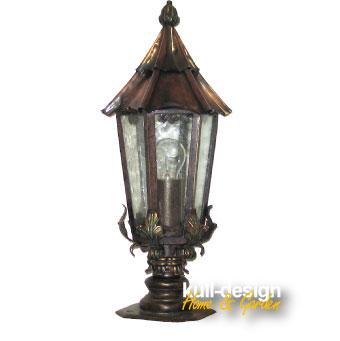 gartenleuchte sockellampe