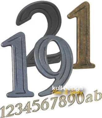 house number handmade street number