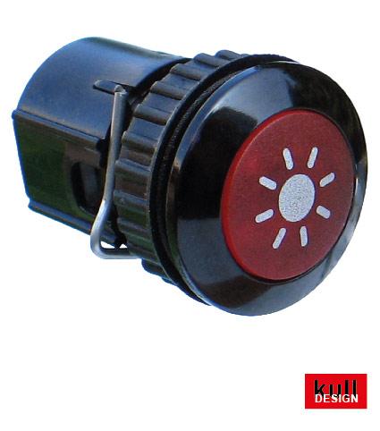 lichttaster LED eingebaut in klingelblenden und nammenschilder