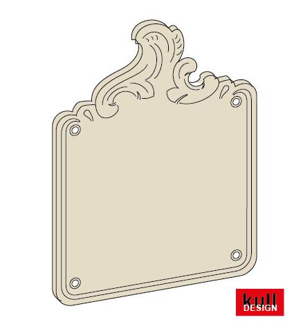 Schmiedeblende / Ornamentblende
