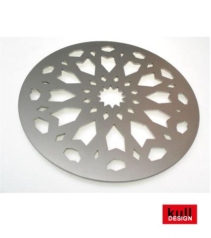 Design-Abtropfgitter aus Edelstahl für den Bodenablauf