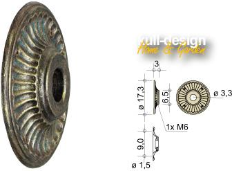 wall rosette 03-17-3cm