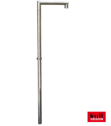 stainles steel garden shower 220cm