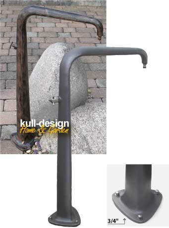 Design fountain for gardens
