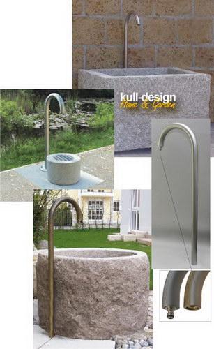 Stainless Steel Garden Water Tap Pillar