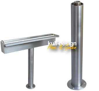 specialist for design products made of stainless steel; specialized in products made of stainless steel