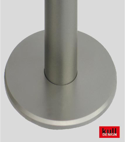wall rosette fixed stainless steel