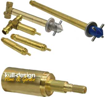 tap made of stainless steel- handgrip or mailbox – you get it at kull-design!