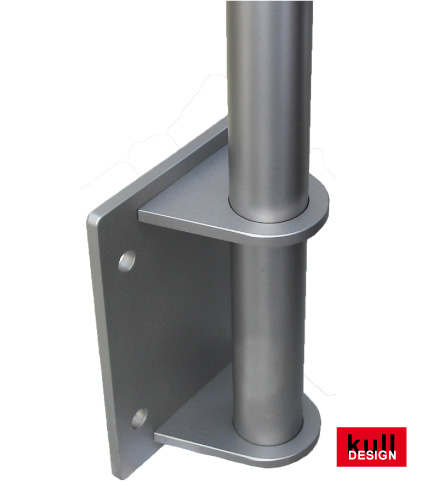 wall holder stainless steel
