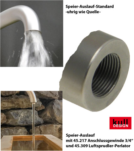specialist for design products made of stainless steel; Germany Manufactory  for garden faucet