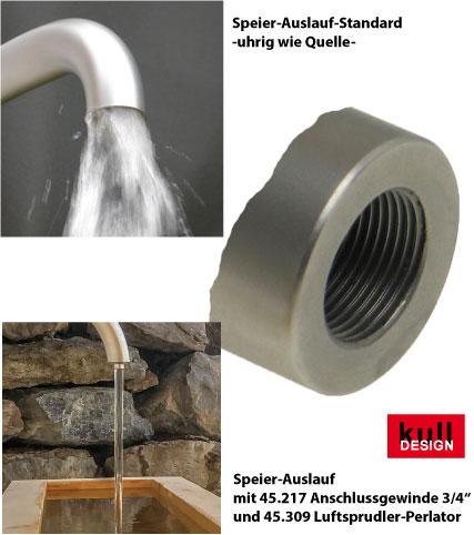 Spezial Wasserspeier für Garten Systemteile