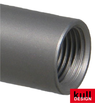 Threaded connector, stainless steel