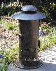 garden splitter outlet bollard