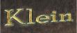 Schrift Name Blattgold