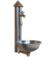 Wall Fountain stainless steel