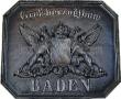 guss wappen <b> baden </b> kaminplatte