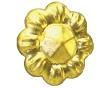 zierrosette vergoldet